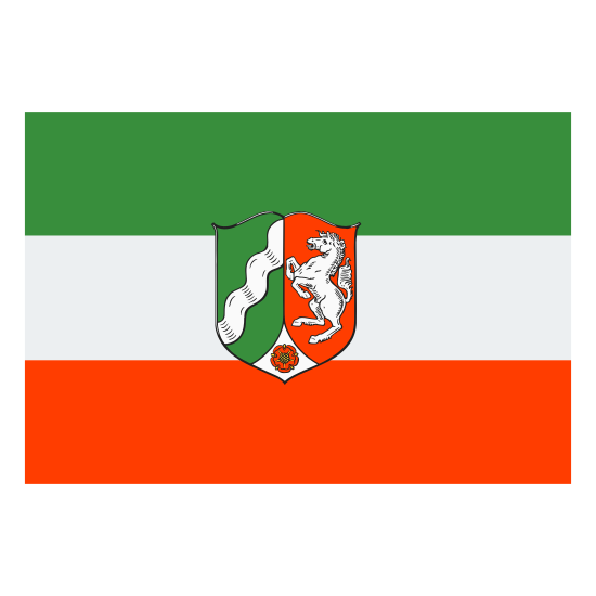 Flag of North Rhine Westphalia icon