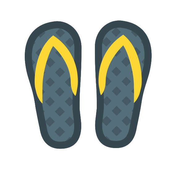 Tongs icon. The icon resembles two upside down pear shapes that are side by side. Each of these two shapes, starting at the top and ending at the middle, have a wishbone looking shape inside of it.