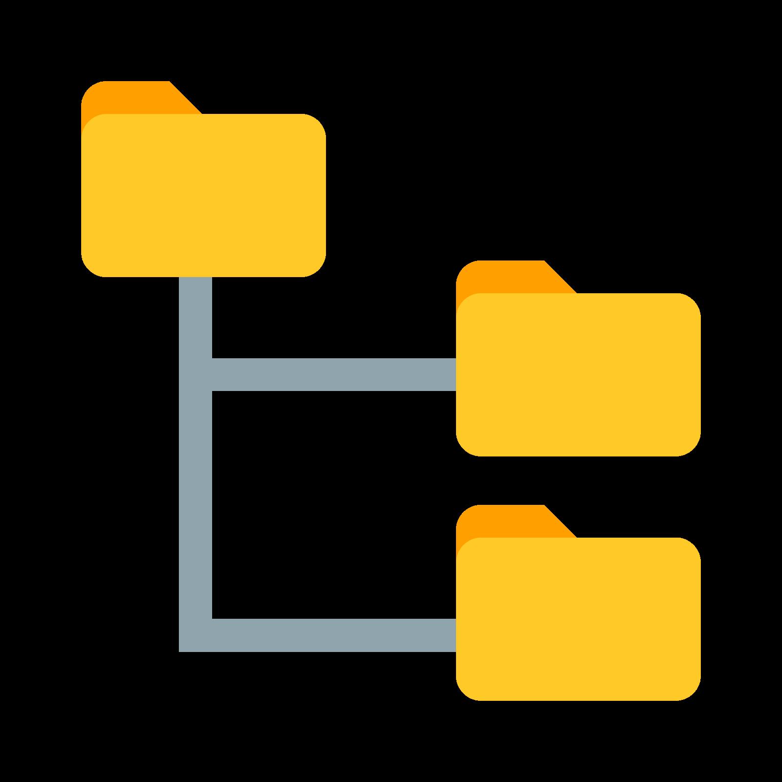 drzewo folderów icon