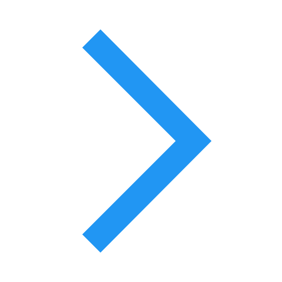Do przodu icon. This is a very simple icon that is made up of two lines that meet to form a point. It looks just like a triangle missing one side. Imagine a short, squat triangle stood on end with the bottom removed and this is what you would get.