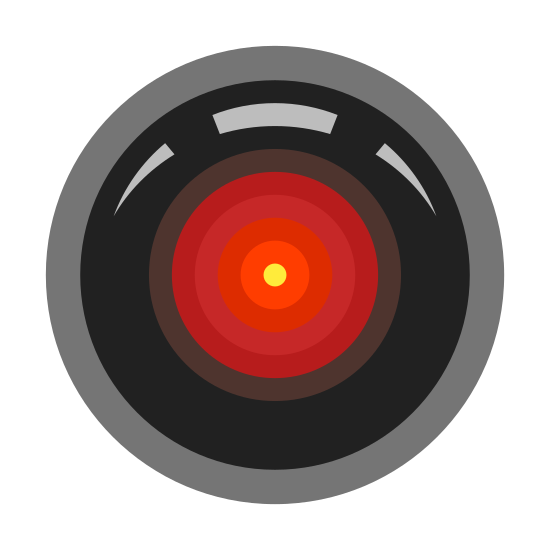 HAL 9000 Icon - free download,...