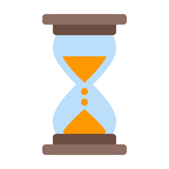 Klepsydra icon. It's a logo of an Hourglass, reduced to an image of an Hourglass. An Hourglass looks like the two wine cups held together without their stems in opposite directions. After the glass there is something to hold the matter in place in order to tell time.