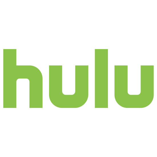 """Hulu icon. This is a picture of Hulu's icon. it has the word """"hulu"""" in all lowercase letters. the letters are in bubble font and are pretty thick. the letters are all closely touching."""