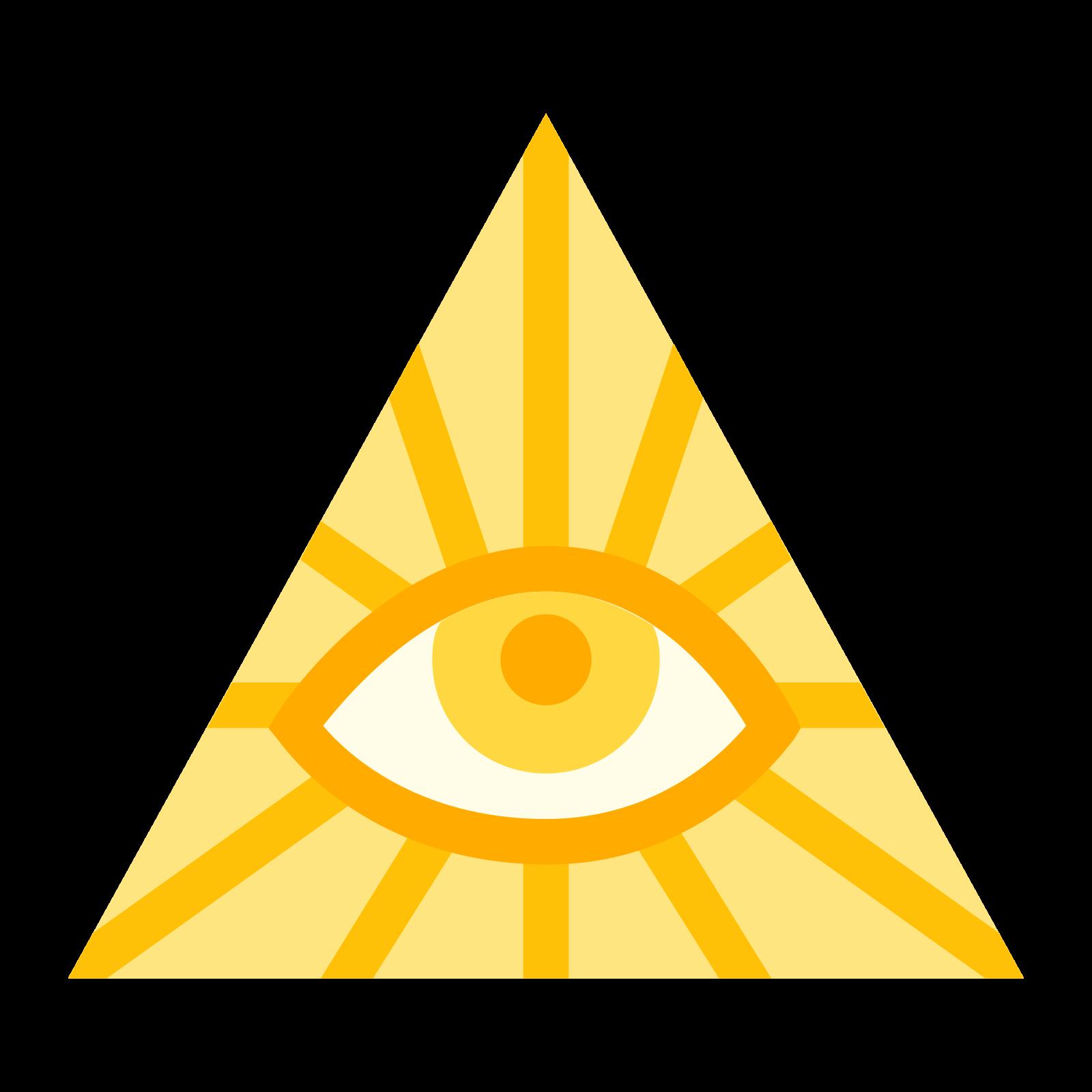 Symbol Illuminati icon
