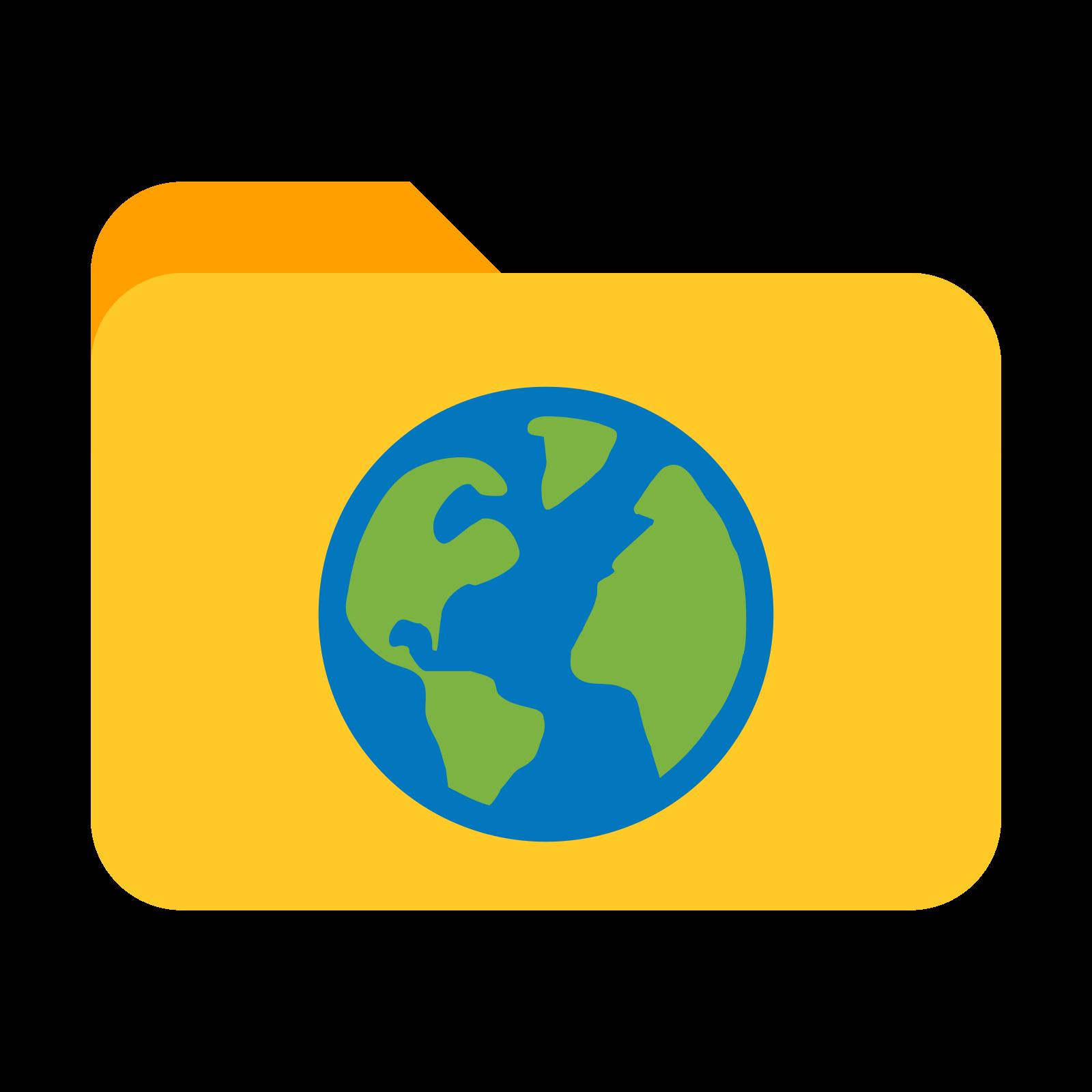 Cartella Internet icon