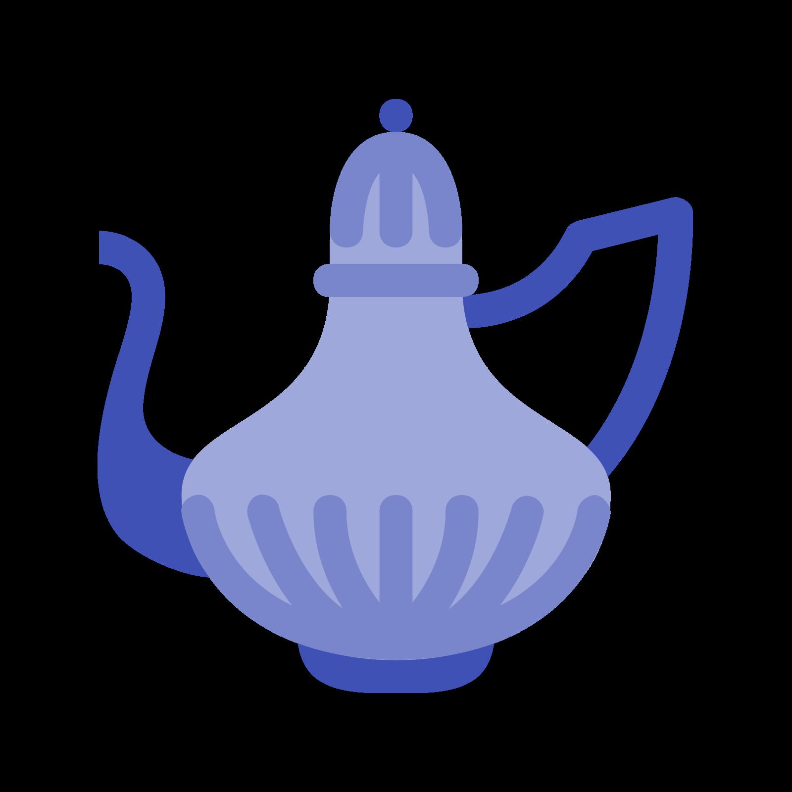 水壶 icon. The kettle icon looks like a large bowl with a narrow pointed cover. On the left is the spout that is in the shape of a backwards S. On the right is the handle.