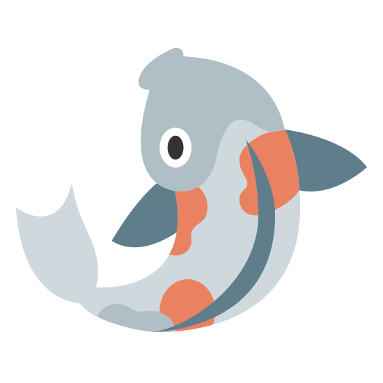 Ryba koi icon