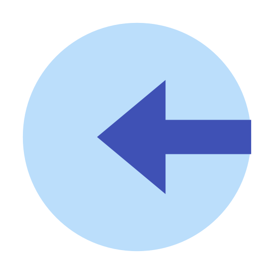 Login Rounded icon. It's a logo of login rounded reduced to an image of an arrow pointed west. The logo is enclosed by a circle that borders it. It reminds me of the back icon on a browser, except a circle is around it.