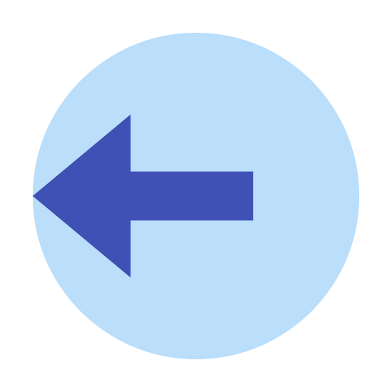 Logout Rounded Left icon. This is a picture of a circle whose left side is completely open. where the rest of the circle should be, instead it's an arrow that is leaving the circle headed in the left direction.