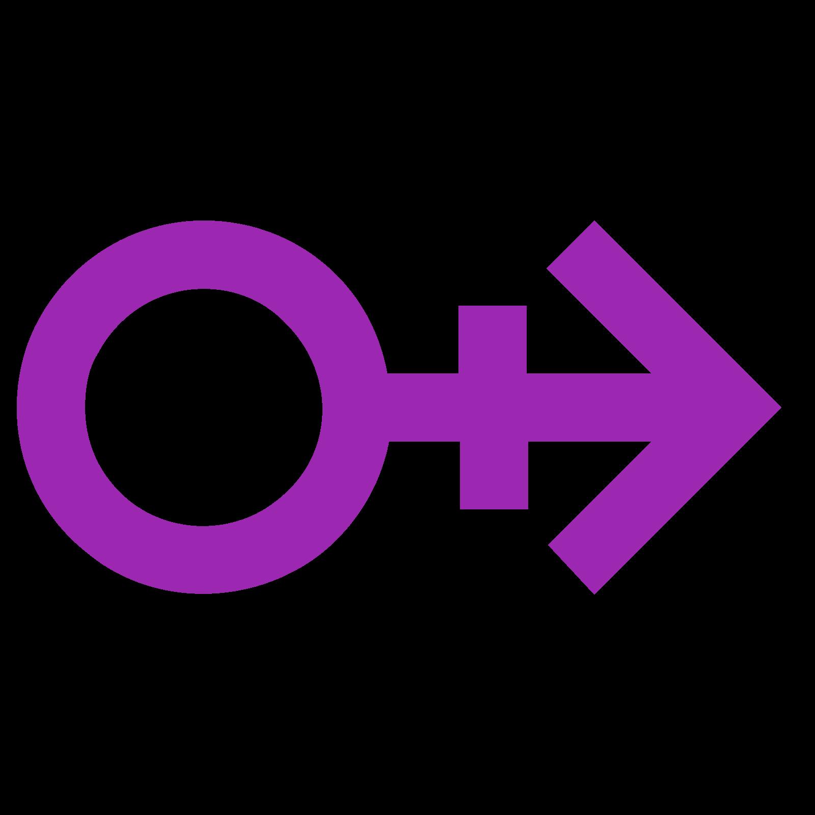 Mężczyzna obrys H icon