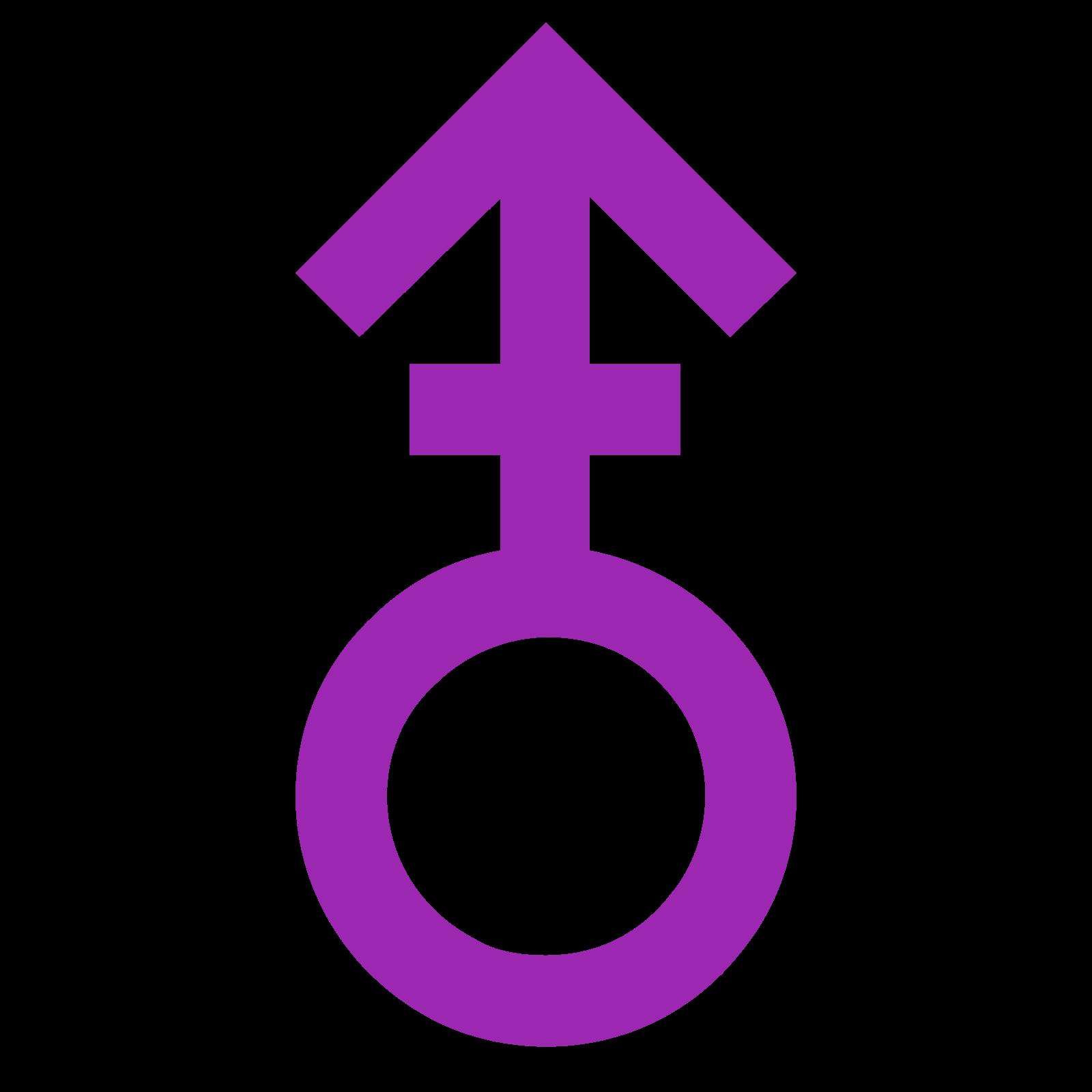 Género masculino V icon