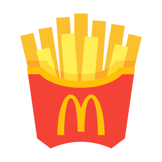 McDonald`s French Fries icon