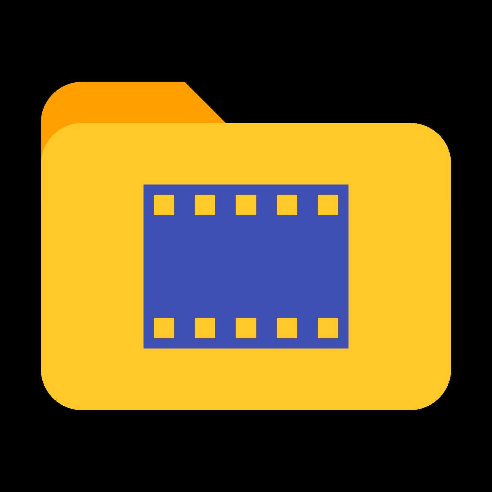 Folder filmy icon