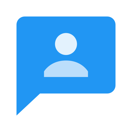 Mój temat icon. The my topic icon is a speech bubble and inside the speech bubble there is an outline of a person. The outline is in a shape of a man's head, neck, and his shoulders.