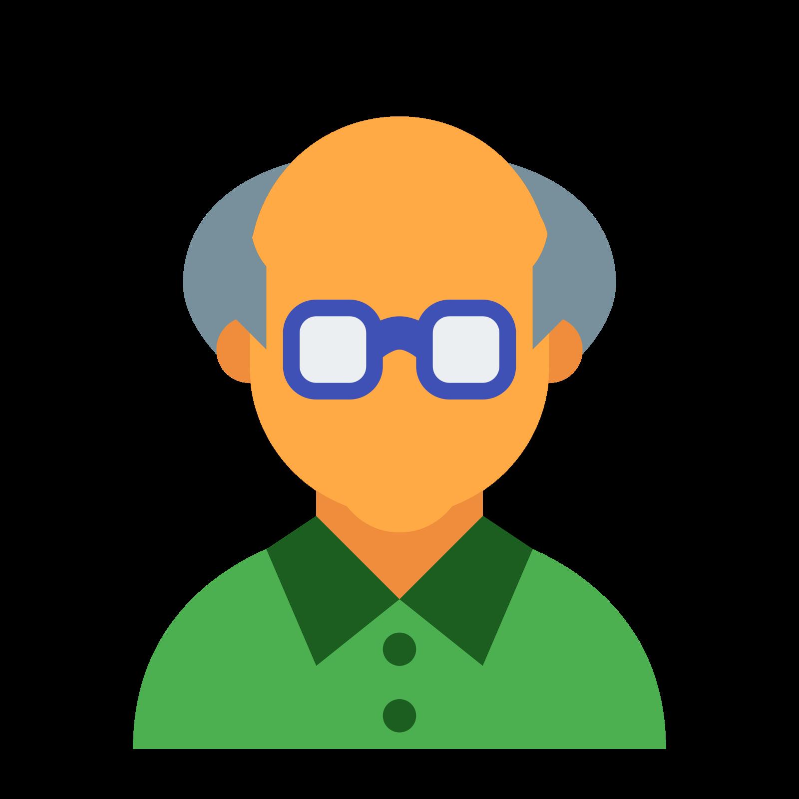 Stary człowiek Skóra typ 4 icon