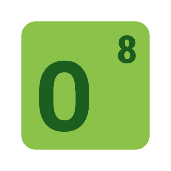 """Tlen icon. This icon is simply the letter """"O"""" centered inside a square shape. The square shape enclosing the """"O"""" has rounded corners. The width of the letter is approximately one third the width of the square."""