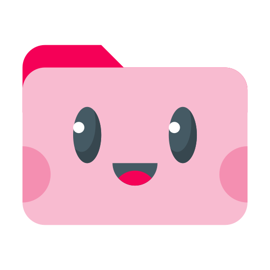 pink cute folder icon free download png and vector