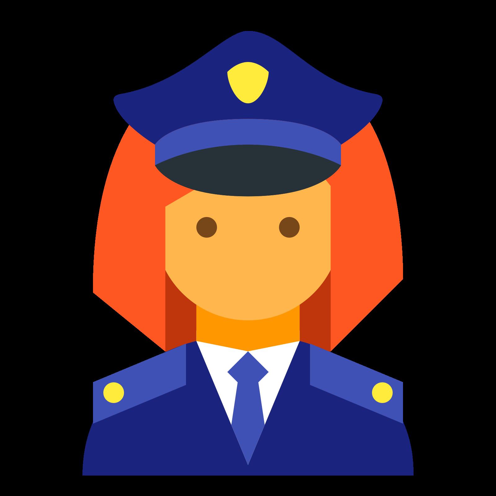 Policeman Female icon