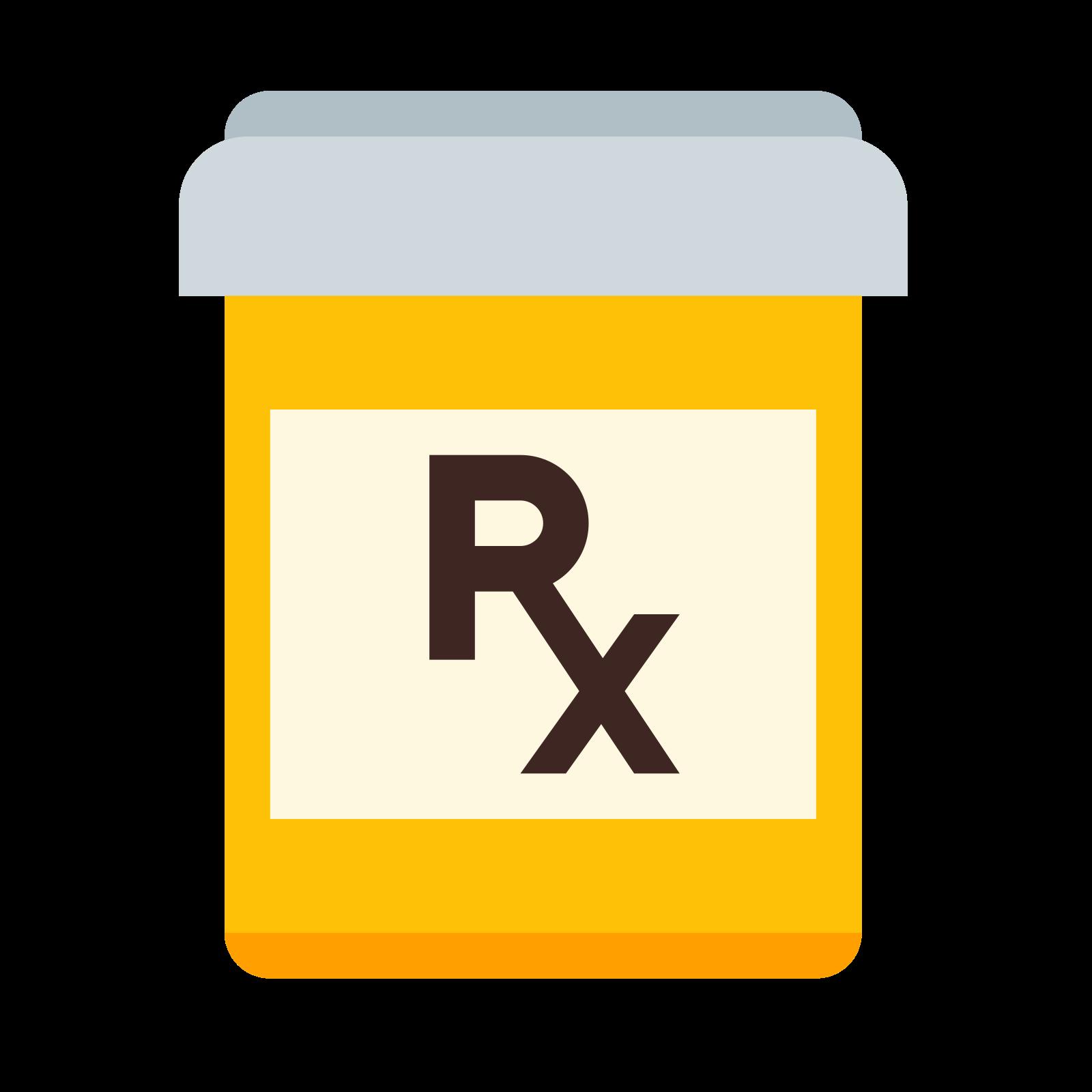 Flacon de pilules sur ordonnance icon