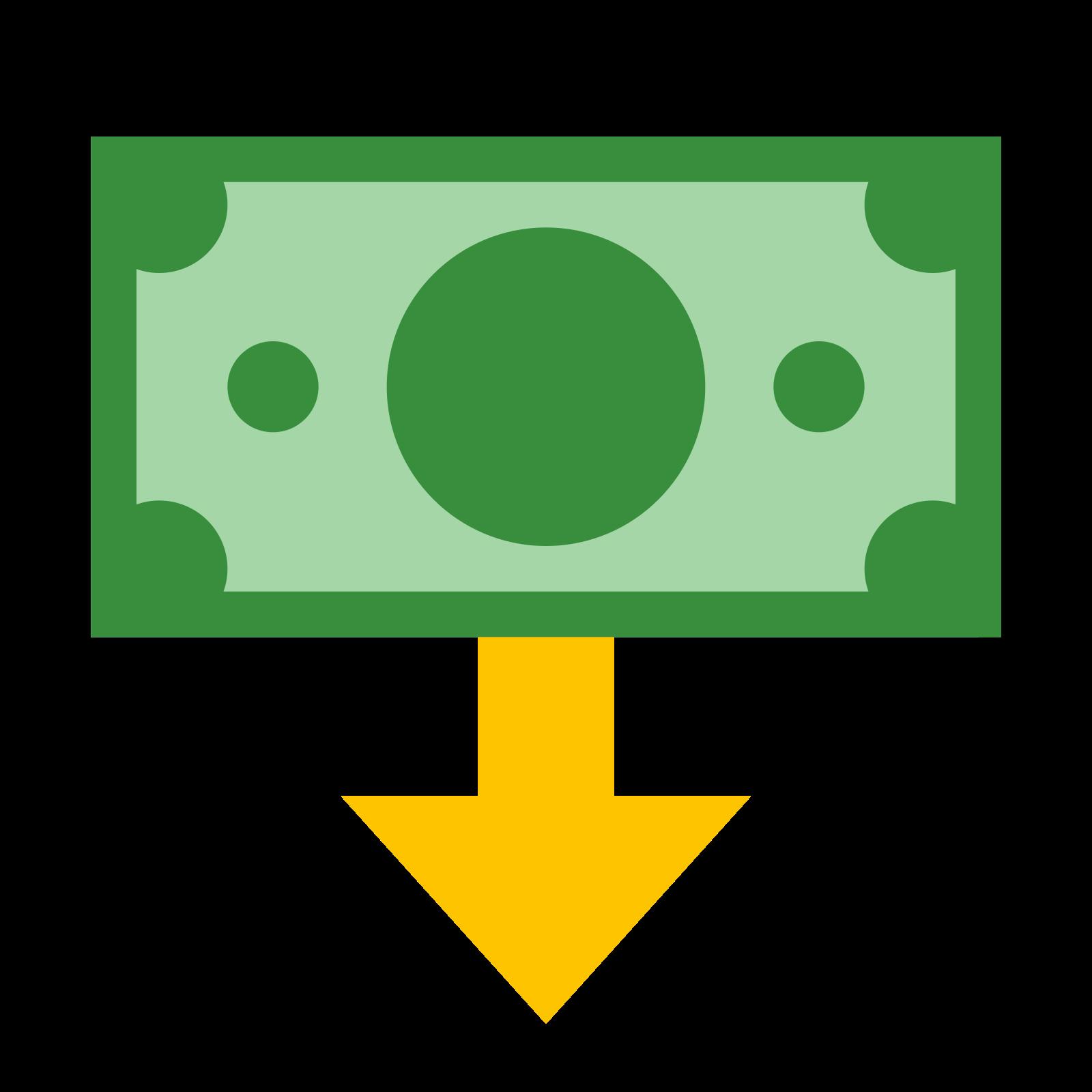 Żądanie pieniędzy icon