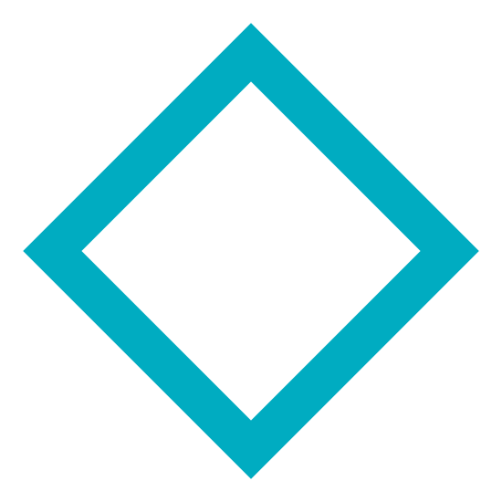 Rhombus icon. The rhombus is the typical shape of most modern baseball fields. It is a square, an object with four lines and four points connected together, but laying on a point instead of one of it's sides.
