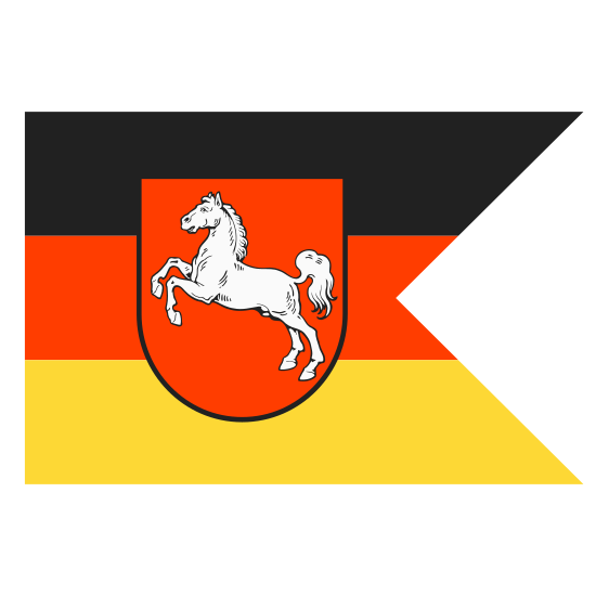 State Ensign of Lower Saxony at Sea icon