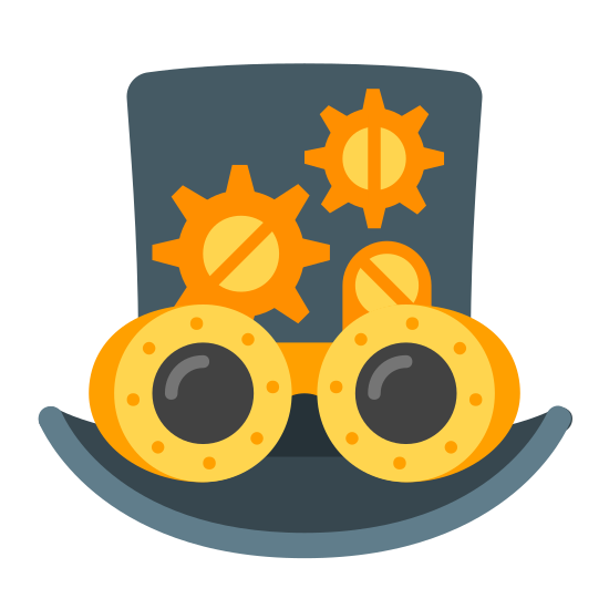 Steampunk icon