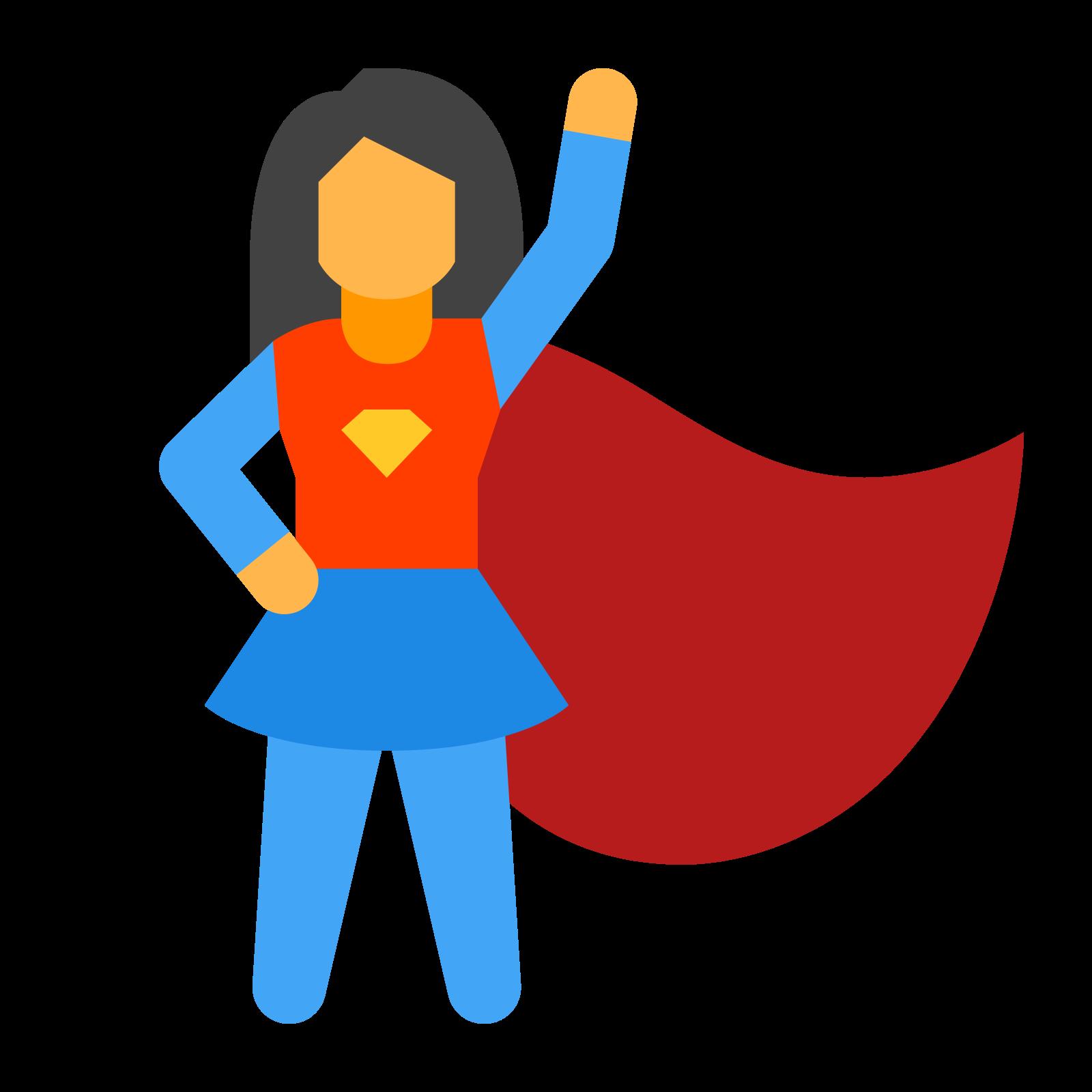 Super Hero Female icon