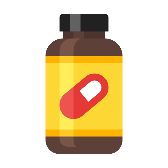 Supplement Bottle icon