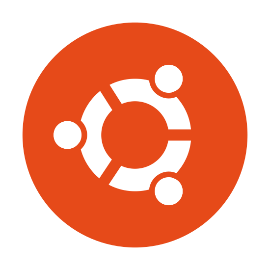 Ubuntu icon. The icon is comprised of a symbol basically identical to that used by the Ubuntu Linux distribution, enclosed within a circle. Ubuntu is one of the most popular Linux distributions, favoring a Mac OS X-like graphical interface, and with widespread support for most tasks one would imagine possible with a desktop computer.
