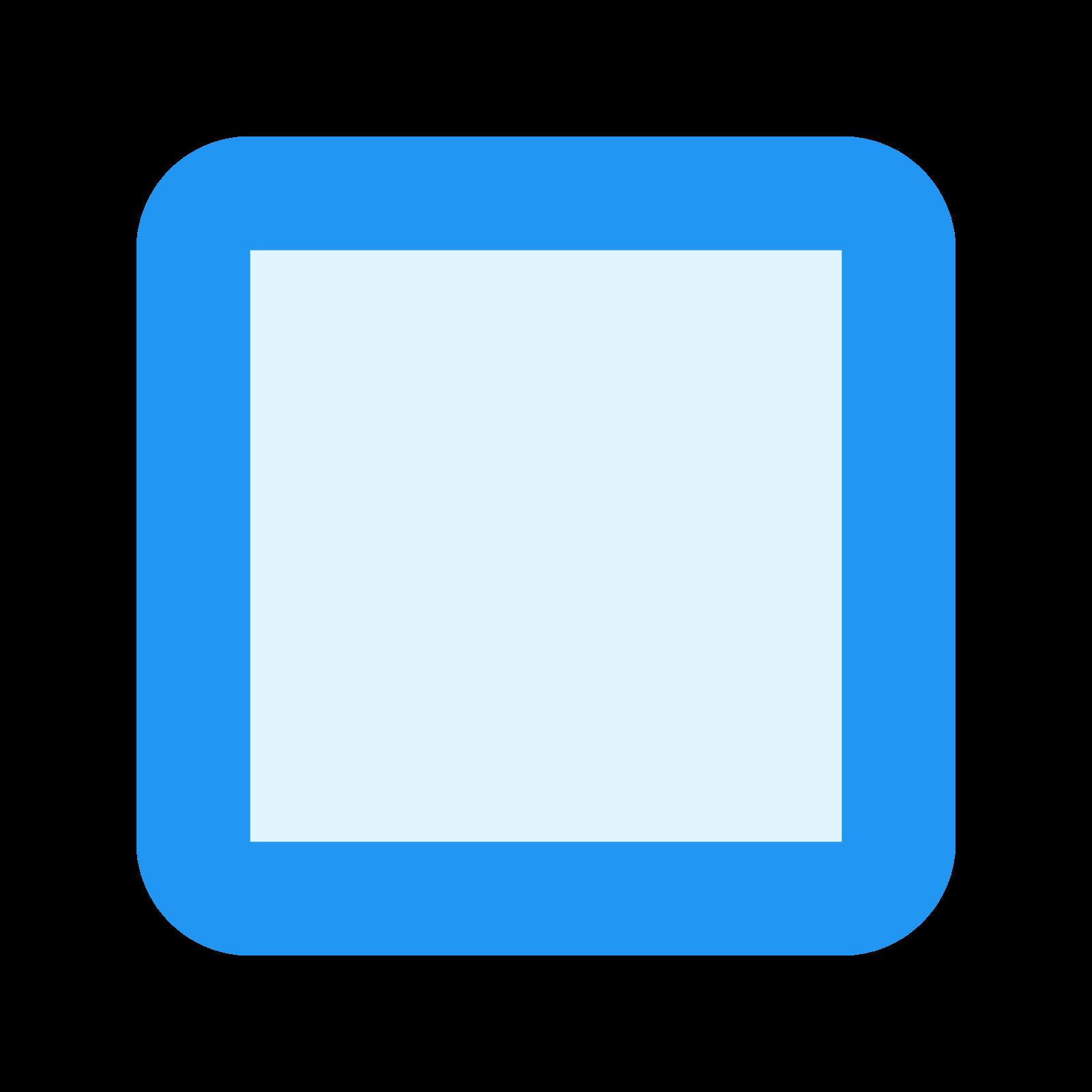 Unchecked Checkbox icon