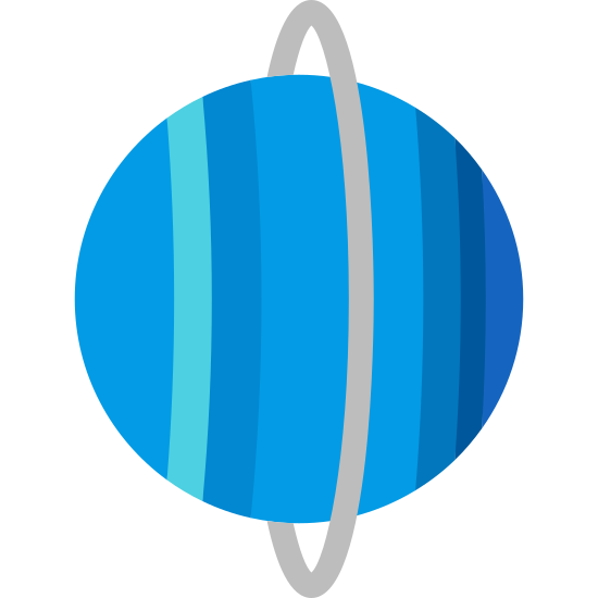 Uranus Planet icon