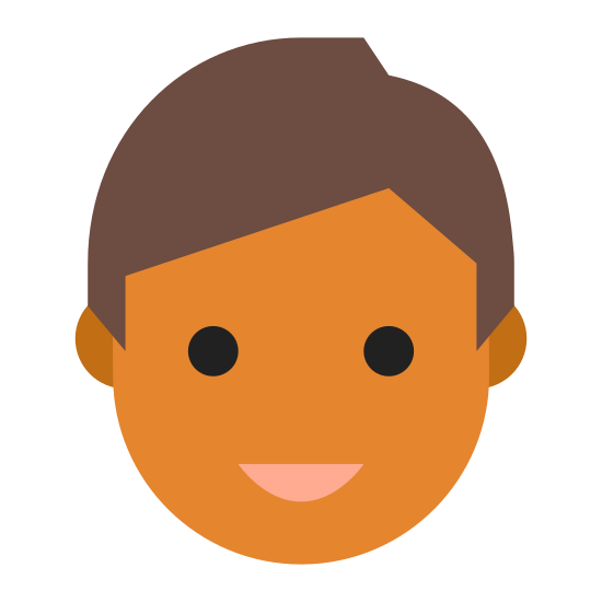 User Male Skin Type 5 icon