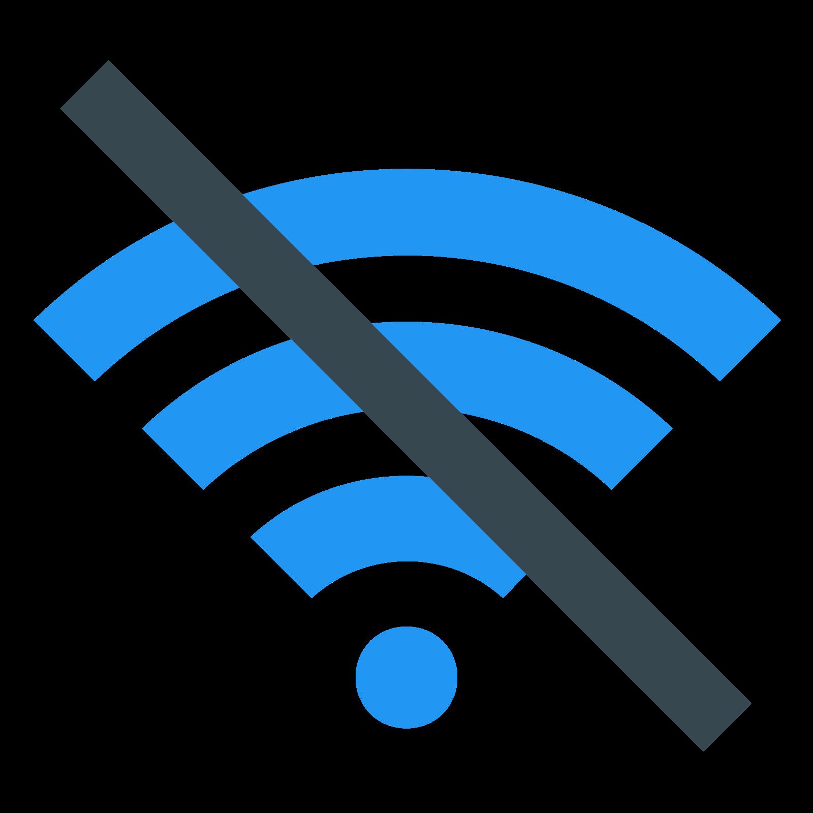 Wi-Fi off icon