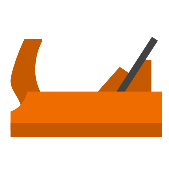 Wooden Hand Plane icon