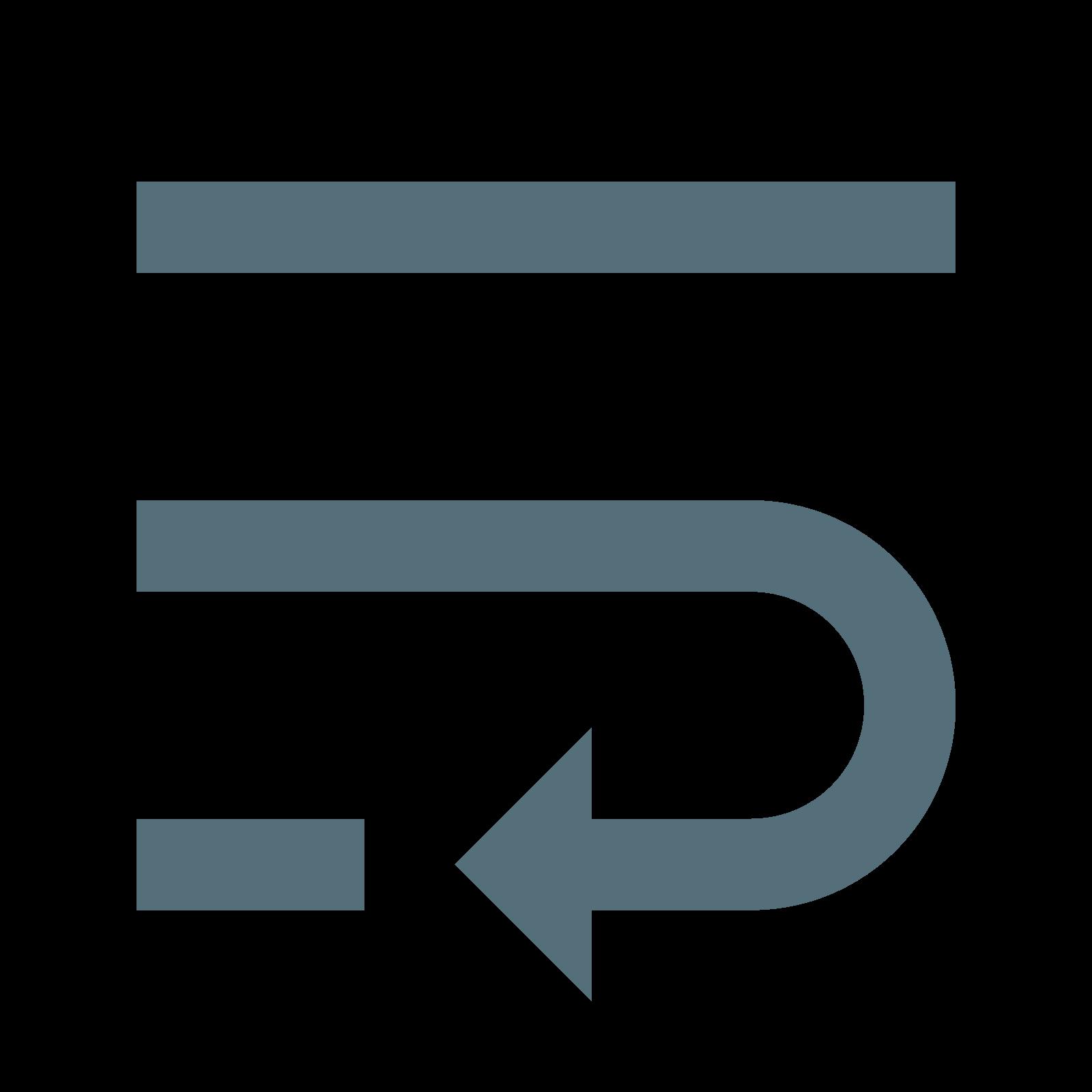 Zawijanie tekstu icon