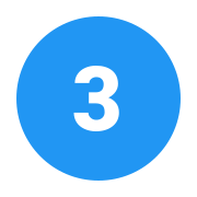 3 C w kółku icon