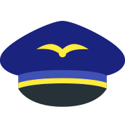 Air Pilot Hat icon