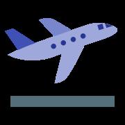 Start samolotu icon