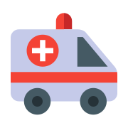Red Cross Truck icon