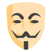 Máscara dos Anonymous  icon