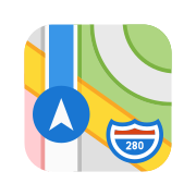 Apple Map icon