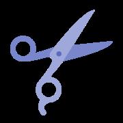 Scissors Outline icon