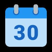 Kalendarz 30 icon