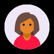 Female User Pic icon
