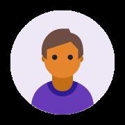丸で囲んだユーザ男性の肌タイプ5 icon