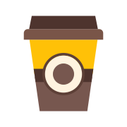 Coffee Cup Outline icon