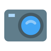 Kompaktowy aparat icon