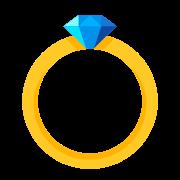 Diamentowy pierścionek icon