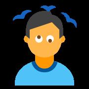 Osoba z zawrotami głowy 2 icon